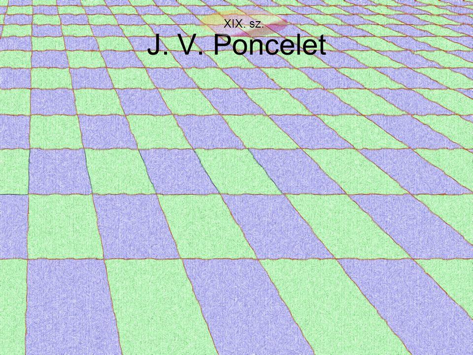 J. V. Poncelet XIX. sz.