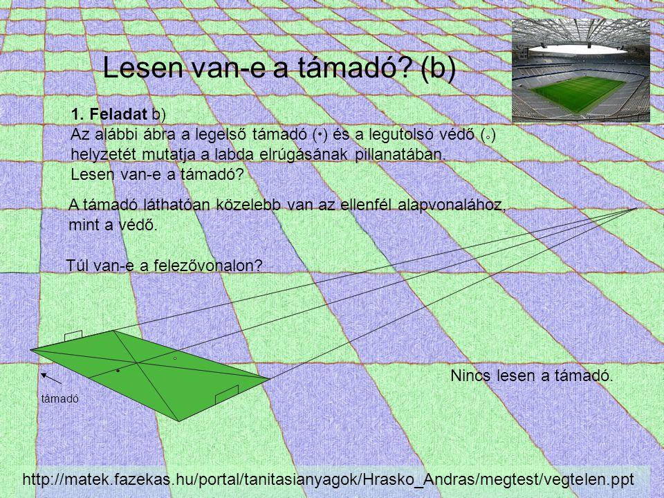 Görög színház Forrás: van der Waerden: Egy tudomány ébredése Vitruvius: Agatharkhosz perspektívikus díszleteket festett Aiszkhülosz tragédiáinak előadásához http://matek.fazekas.hu/portal/tanitasianyagok/Hrasko_Andras/megtest/vegtelen.ppt Vitruvius (De Architectura): … ha egy meghatározott helyet veszünk középpontnak, a vonalak – éppúgy mint a termé- szetben – szükségképpen megfelelnek a szem nézőpontjának és a tekintet irányának, úgyhogy a színpadképeken a határozatlan tárgyak határozott ábrázolásai épületek a- lakját mutatják, és bár valamennyit függőleges sík felületen ábrázolják, egyesek a hát- térbe húzódnak, mások előreugróknak látszanak.
