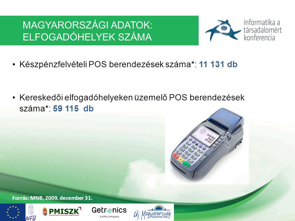 E-FIZ: ELEKTRONIKUS FIZETÉSI PROGRAM Az EKOP-2.1.1-07-2008-0001 számú támogatási szerződés keretében valósul meg, összesen mintegy bruttó 4 Mrd forint értékben.