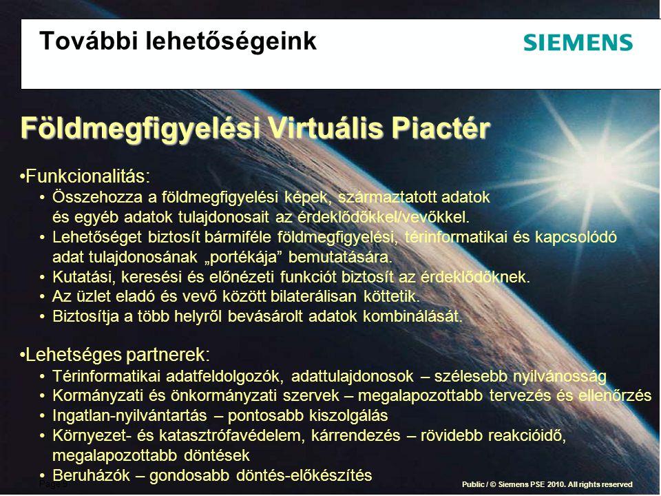Page 9 Public / © Siemens PSE 2010.