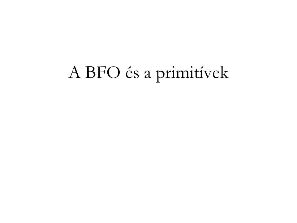A BFO és a primitívek