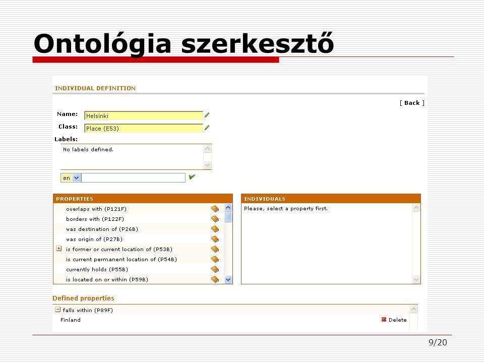 20/20 Kérdések?  Köszönöm a figyelmet. www..fi