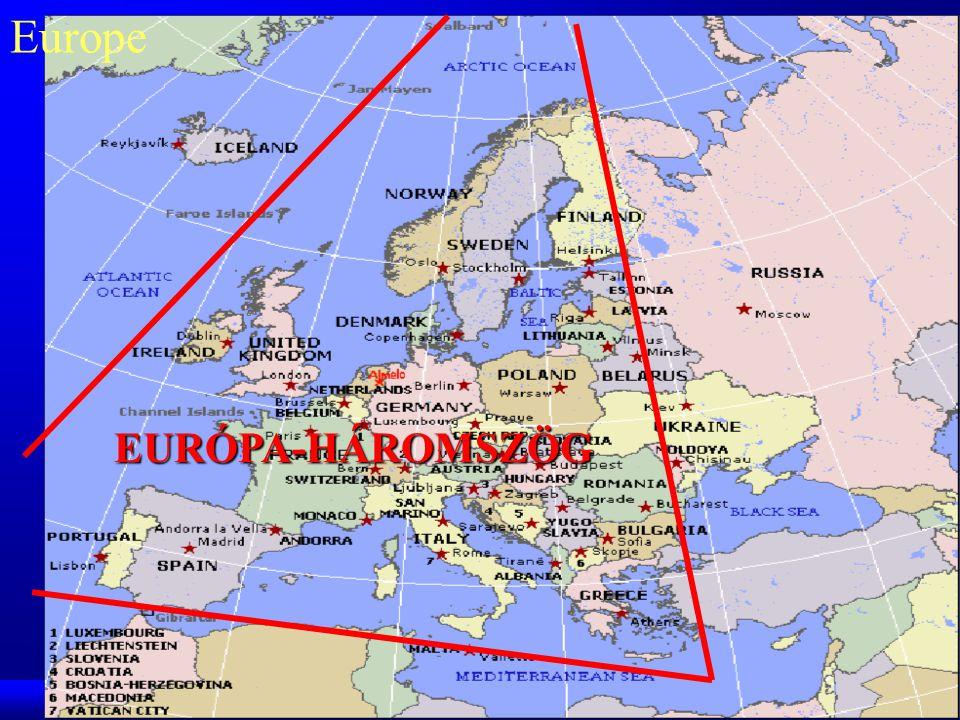 Europe EURÓPA-HÁROMSZÖG