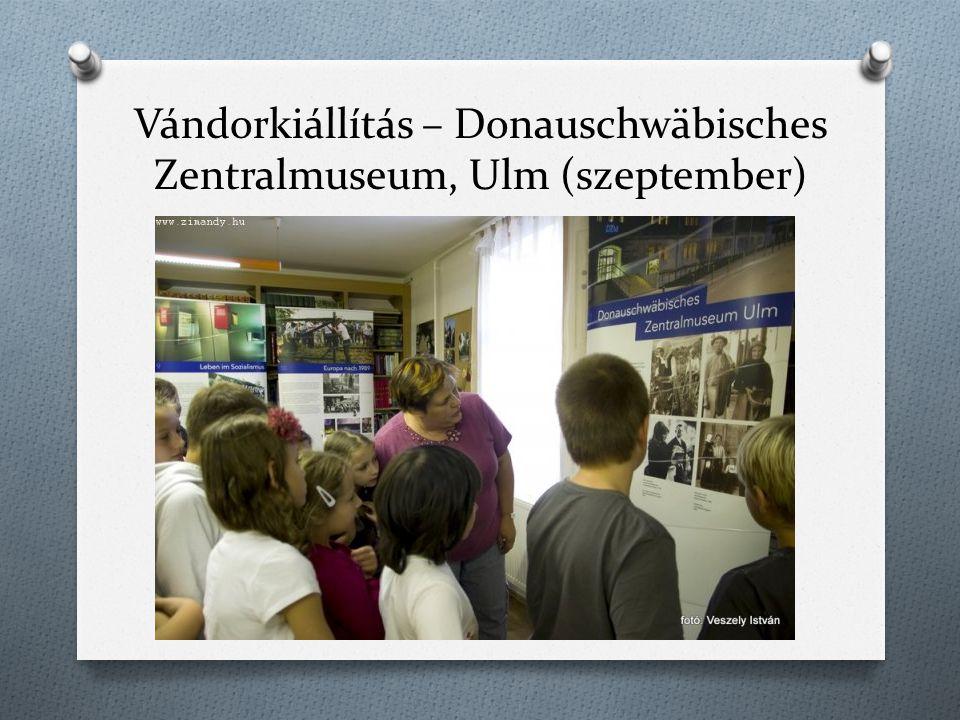 Vándorkiállítás – Donauschwäbisches Zentralmuseum, Ulm (szeptember)