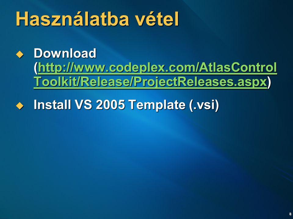 9 ASP.NET AJAX Control Toolkit