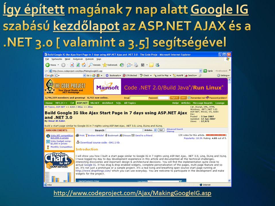 17 Lásd: http://www.bl.uk/ttp2/ttp1.htmlhttp://www.bl.uk/ttp2/ttp1.html Figyelem - Windows Vista vagy.NET Framework 3.0-val felszerelt Windows XP SP2 szükséges a futtatásához (és komoly PC!)
