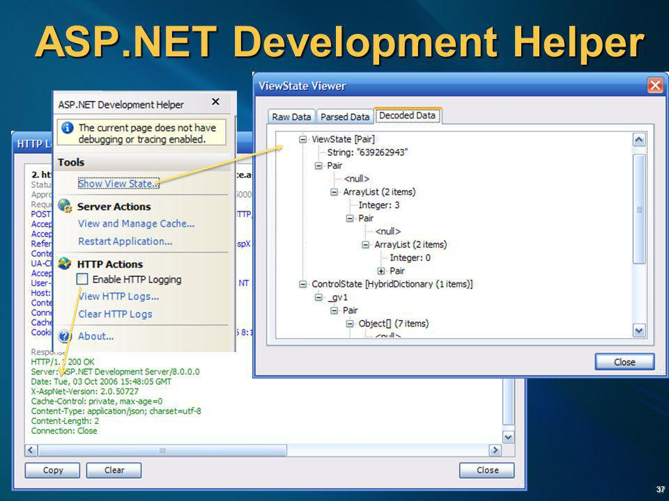 37 ASP.NET Development Helper