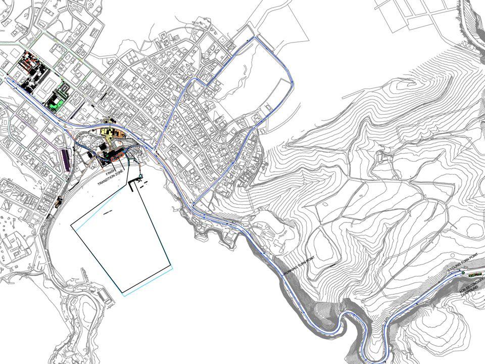 Oceanida-öböl –1 kör –Rajt –Várható vízhőmérséklet Depó –Új helyszín a tesztversenyhez képest –Egyéni kerékpáros depók Kerékpár –5 kör –Nehézségi fok – emelkedők (22%) –Minden körben a depón keresztül Futás –3 kör –Sík pálya Pálya