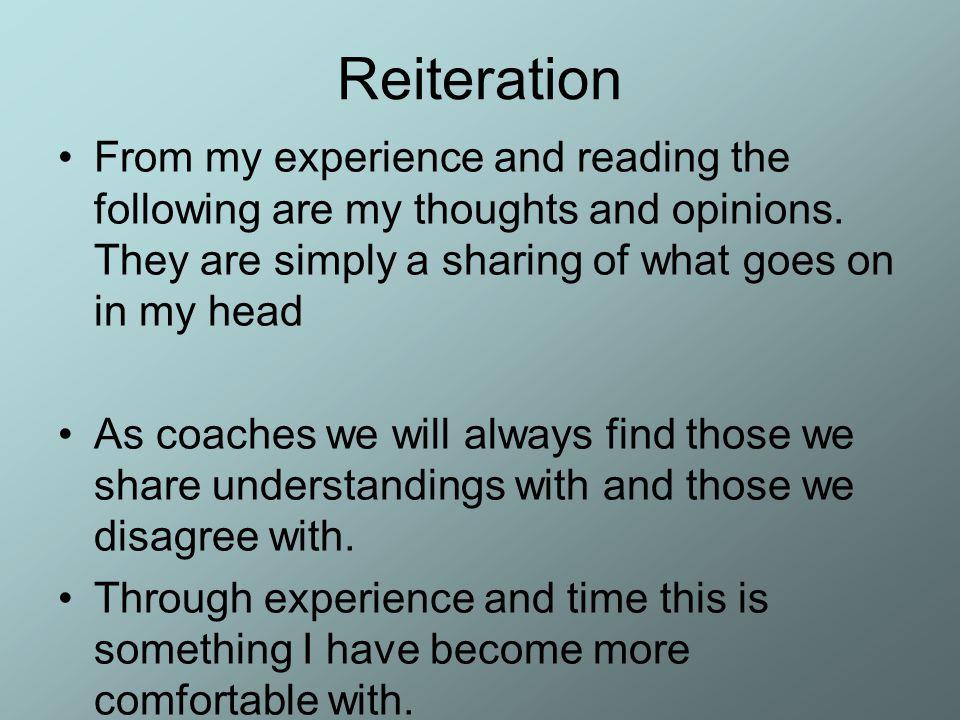 Ismétlés (visszatekintés) Az alábbi gondolatokat és véleményemet a tapasztalataim és olvasmány-élményeim alapján gyűjtöttem össze.