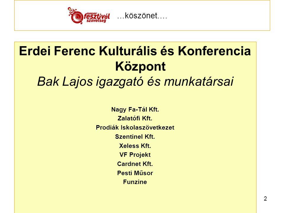 Csabai Kolbászfesztivál kiváló minősítésű gasztronómiai fesztivál Csabai Rendezvényszervező Kulturális Szolgáltató Kft.