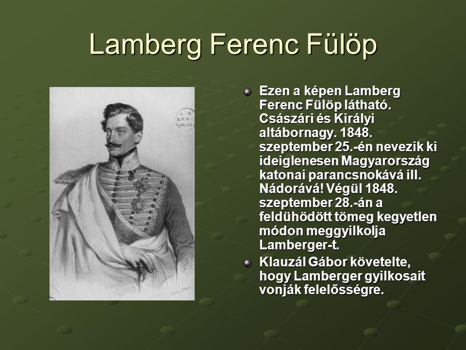 Lamberg Ferenc Fülöp Ezen a képen Lamberg Ferenc Fülöp látható.