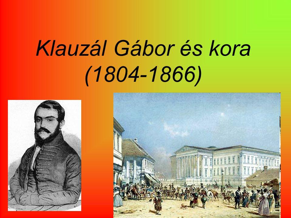Klauzál Gábor és kora (1804-1866)