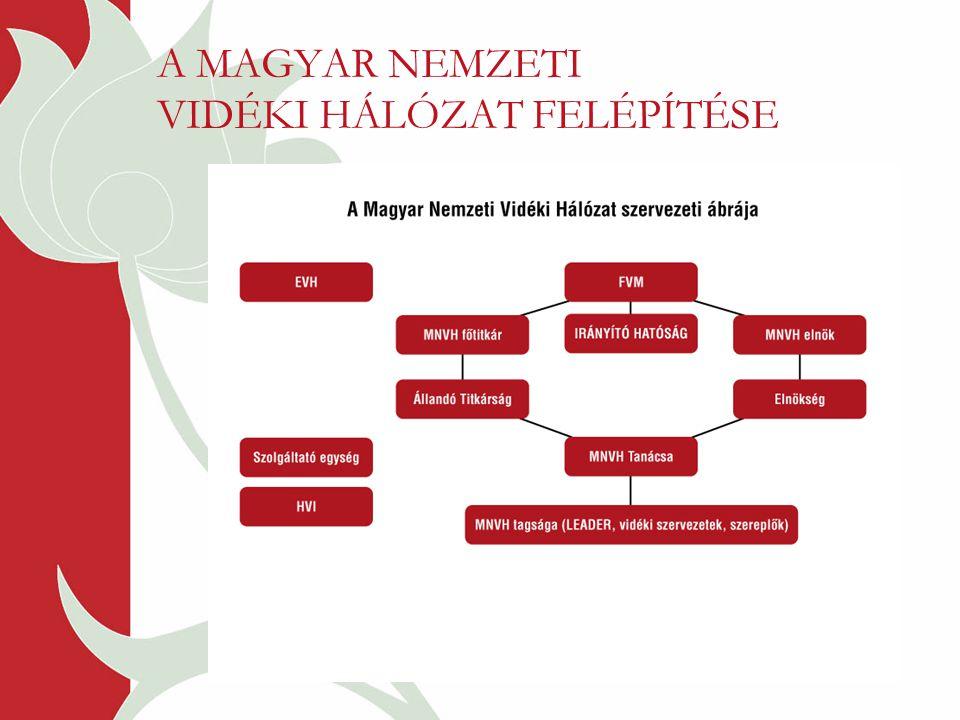 A MAGYAR NEMZETI VIDÉKI HÁLÓZAT FELÉPÍTÉSE