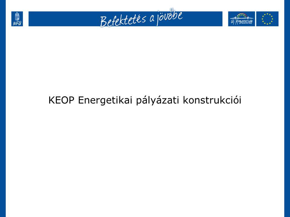 KEOP Energetikai pályázati konstrukciói