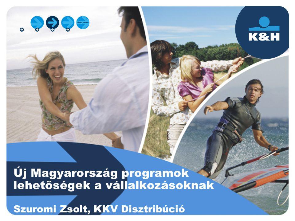 Új Magyarország programok lehetőségek a vállalkozásoknak Szuromi Zsolt, KKV Disztribúció