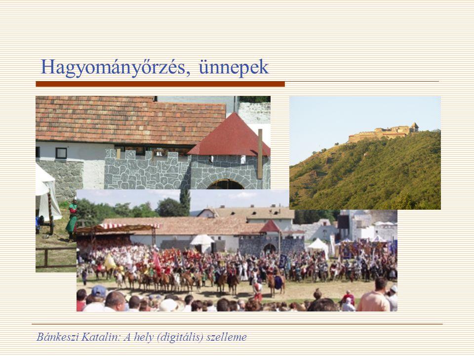 Bánkeszi Katalin: A hely (digitális) szelleme Hagyományőrzés, ünnepek