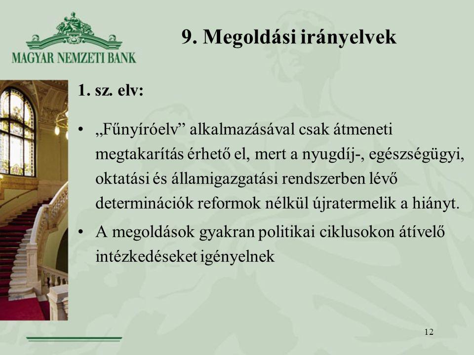 12 9. Megoldási irányelvek 1. sz.