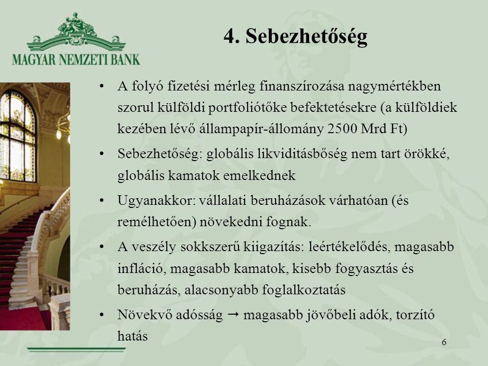 17 9.Megoldási irányelvek (folyt.) 6. sz. elv: Biztosítani kell a transzparenciát.