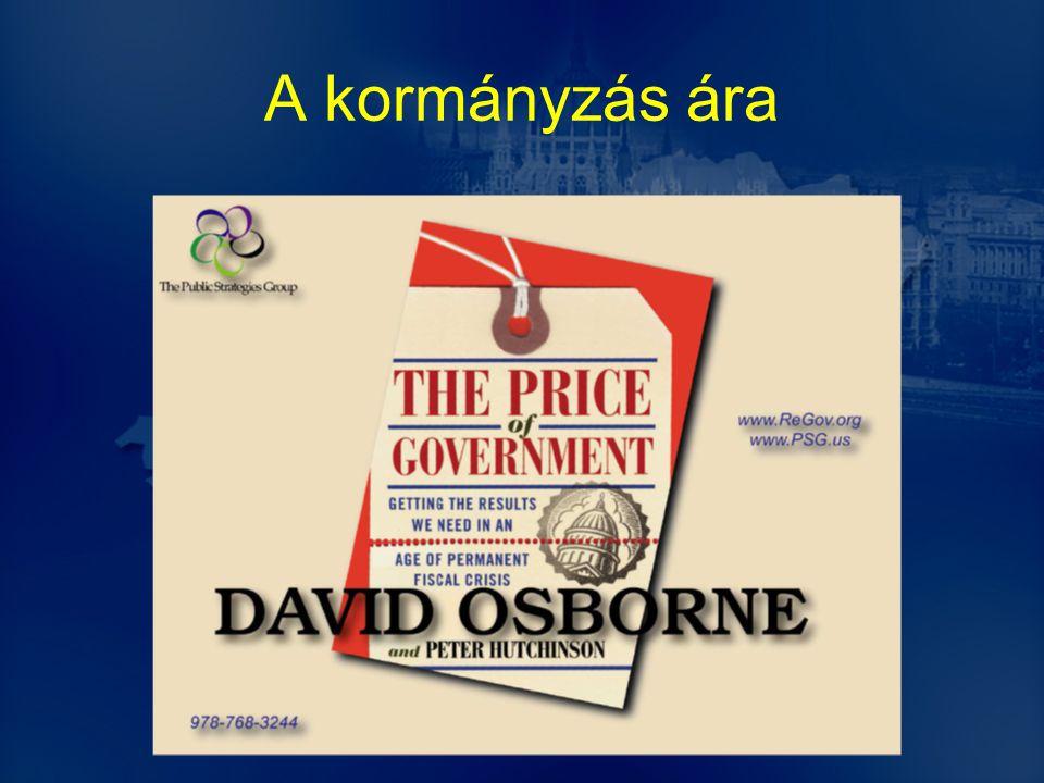 A kormányzás ára