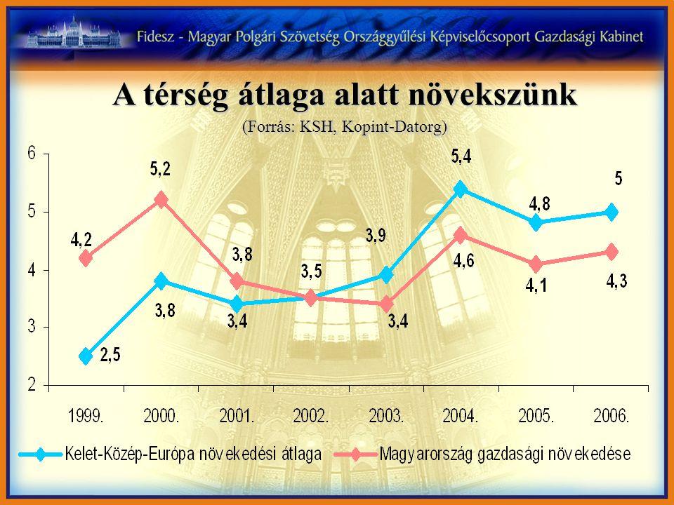 A kormány képtelen megállítani a munkanélküliség növekedését 7,3