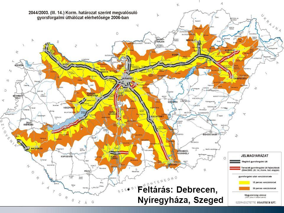 11 Feltárás: Debrecen, Nyíregyháza, Szeged
