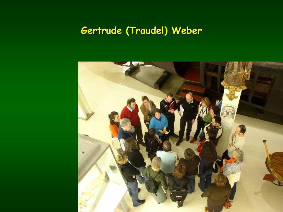 Gertrude (Traudel) Weber