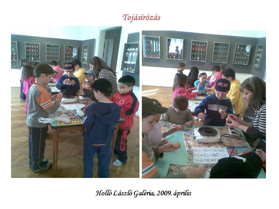 Tojásírózás Holló László Galéria, 2009. április