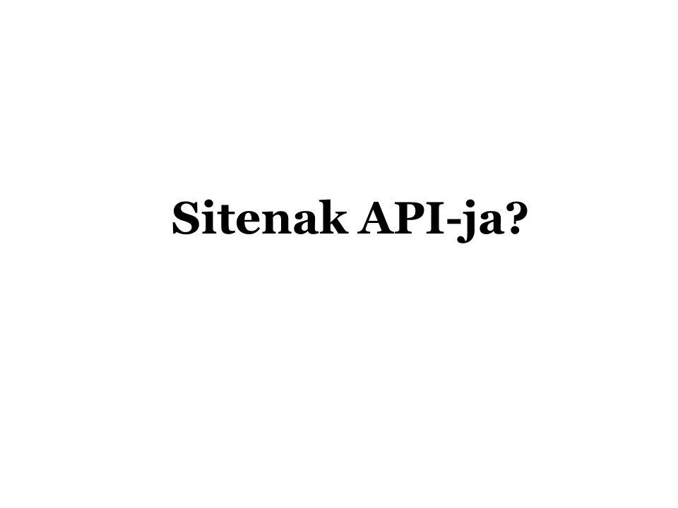 Mini-feed API