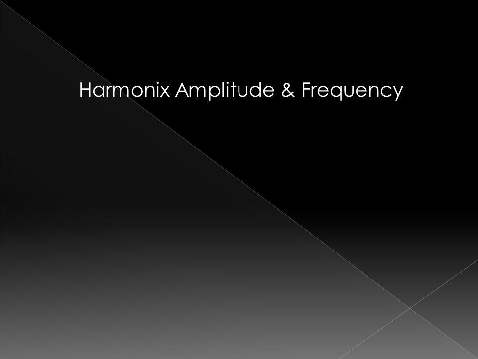 Harmonix Amplitude & Frequency