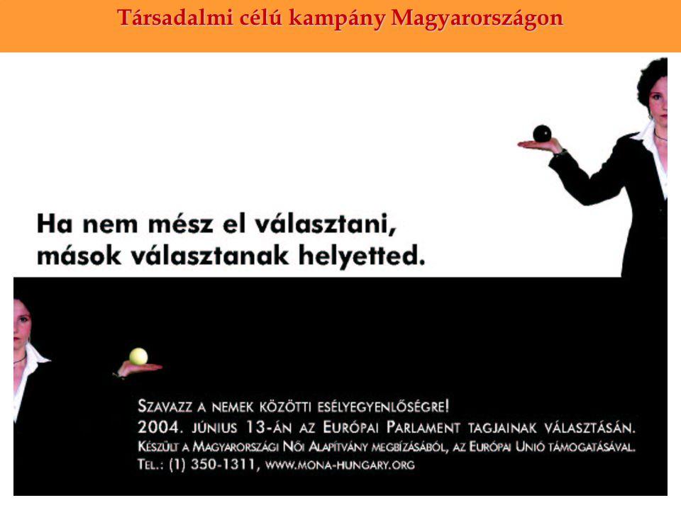 Társadalmi célú kampány Magyarországon