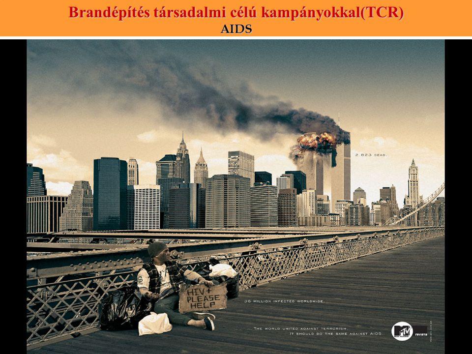 Brandépítés társadalmi célú kampányokkal(TCR) AIDS