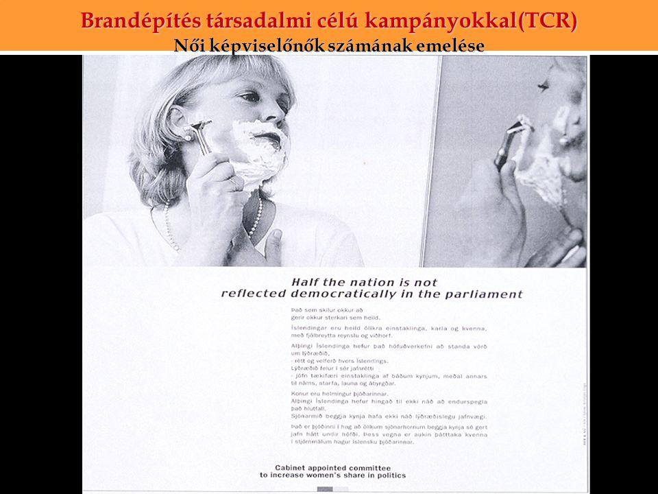 Brandépítés társadalmi célú kampányokkal(TCR)