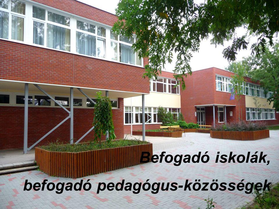 Cserhátiné Gémesi Gyöngyi igazgató Befogadó iskolák, befogadó pedagógus-közösségek Befogadó iskolák, befogadó pedagógus-közösségek