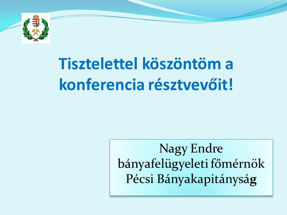 Tisztelettel köszöntöm a konferencia résztvevőit.
