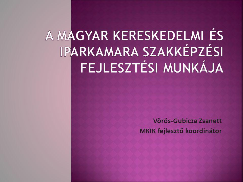 Vörös-Gubicza Zsanett MKIK fejlesztő koordinátor