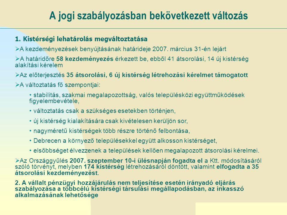 Ugrás az első oldalra A rendszer továbbfejlesztése az önkormányzati reform integráns része I.