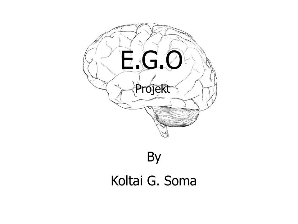E.G.O By Koltai G. Soma Projekt