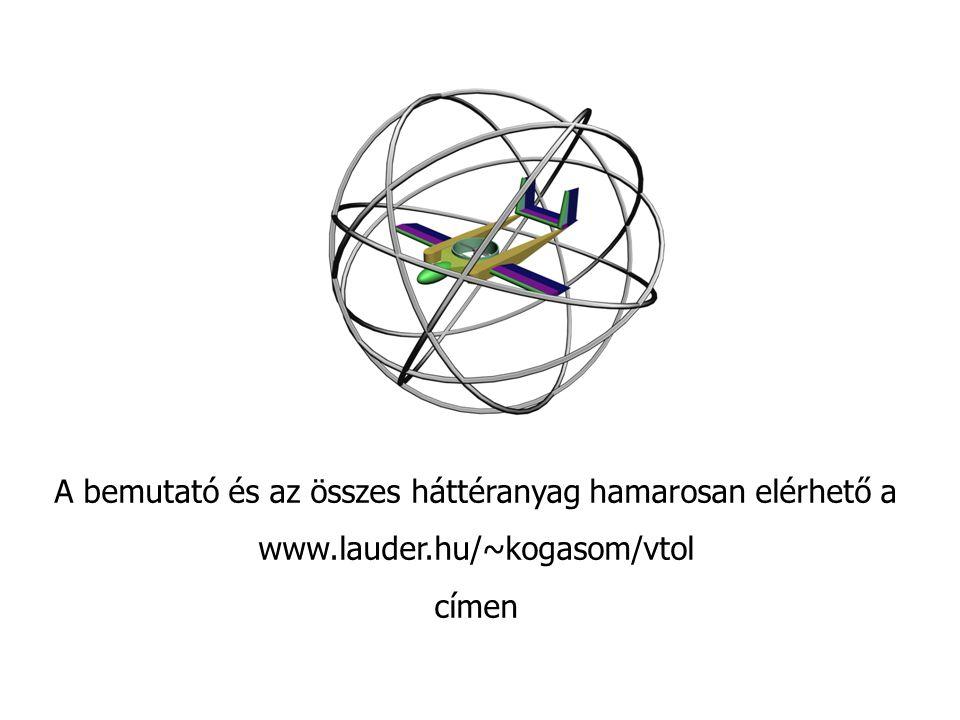 A bemutató és az összes háttéranyag hamarosan elérhető a www.lauder.hu/~kogasom/vtol címen