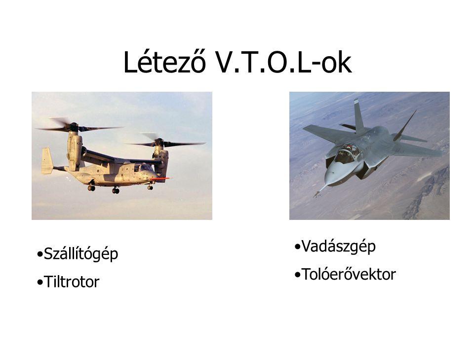 Létező V.T.O.L-ok Szállítógép Tiltrotor Vadászgép Tolóerővektor