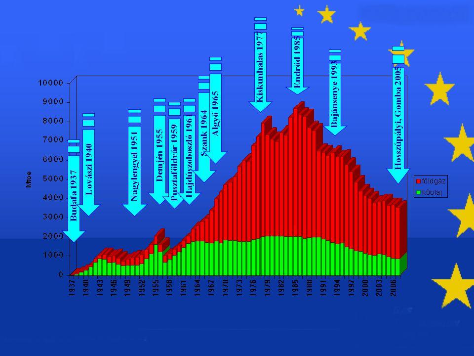 Dunagáz szakmai napok A földgázkutatás helyzete 5 Hazai gáztermelés a jelenlegi készletek alapján Bruttó földgáz termelés 1995-2010 0 1 2 3 4 5 6 1 9951 9961 9971 9981 9992 0002 0012 0022 0032 0042 0052 0062 0072 0082 0092 010 év Milliárd m3