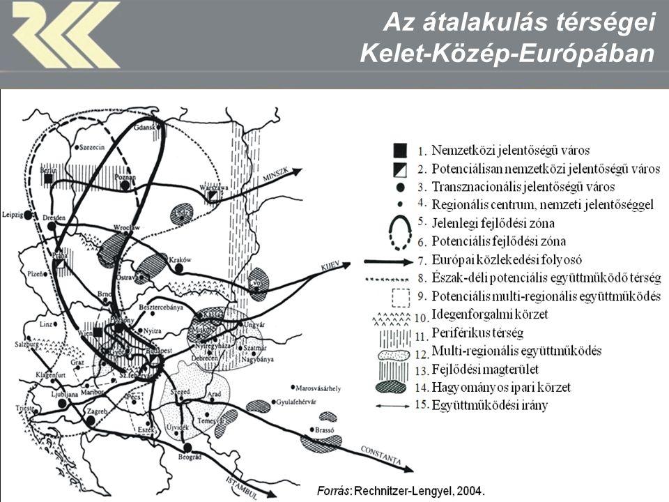 MTA Regionális Kutatások Központja Bécs-Pozsony-Győr potenciális várostérség
