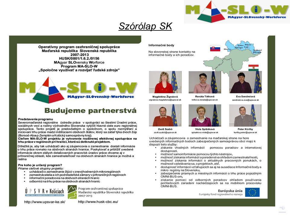 Szórólap SK 