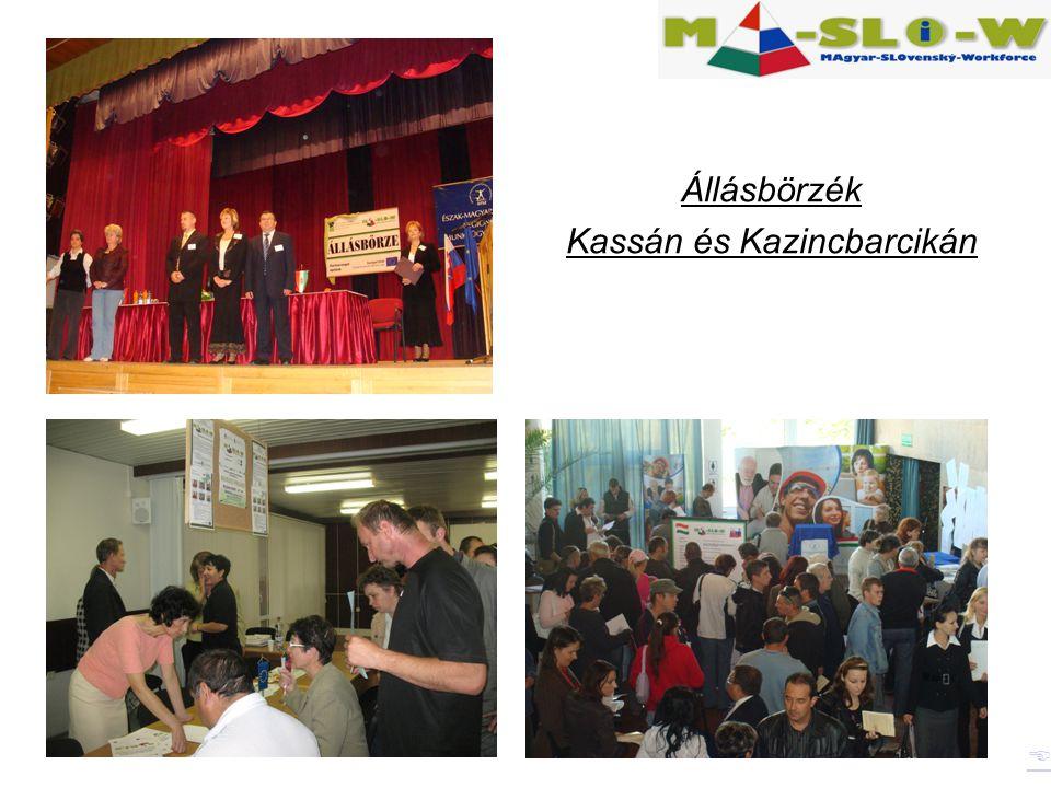 Állásbörzék Kassán és Kazincbarcikán 