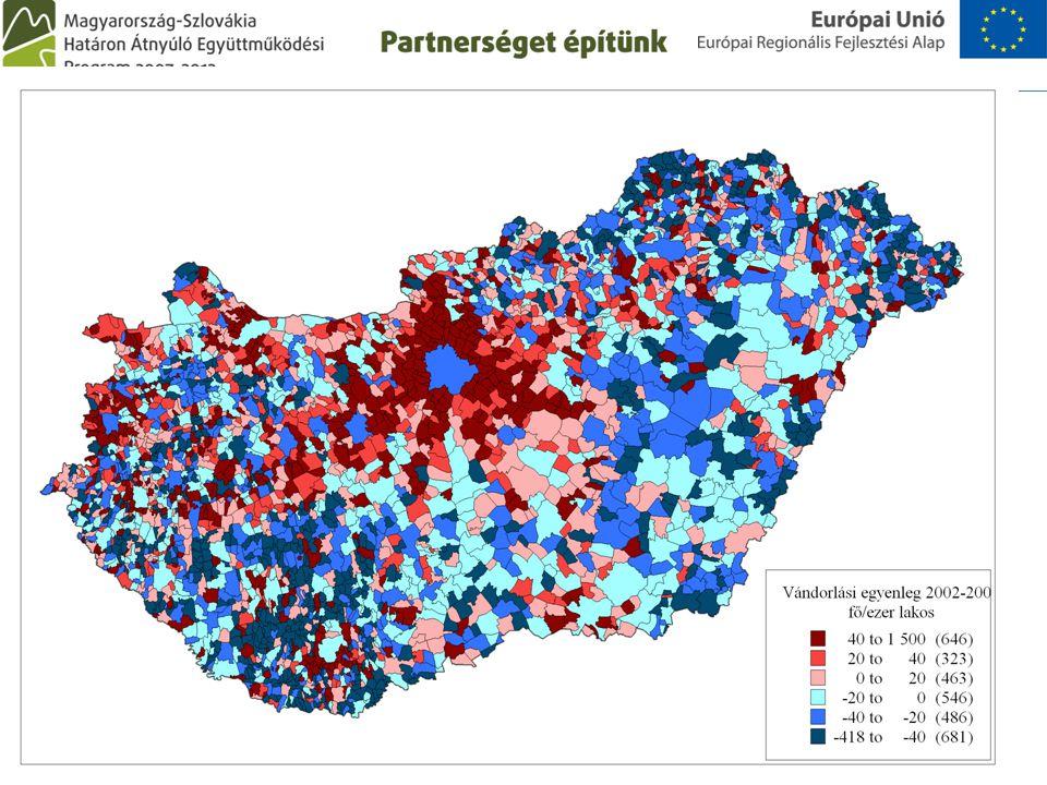 A szubrbanizáció jelensége A városi tér kiterjeszkedése Szuburbiák létrejötte a városi agglomerációban A lakosok kiköltözése (lakóhelyi szuburbanizáci