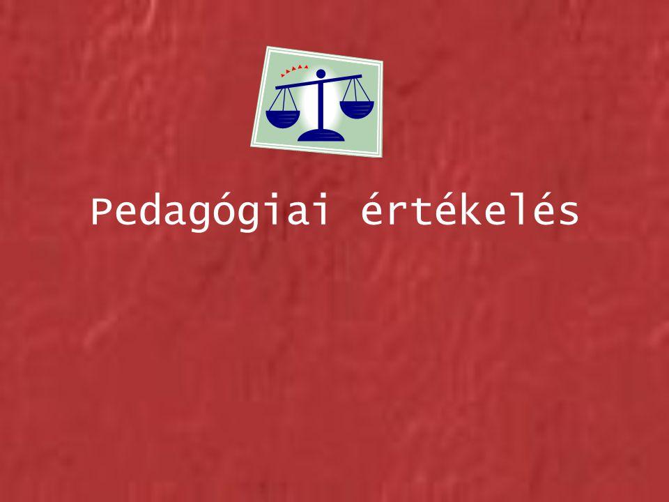Pedagógiai értékelés
