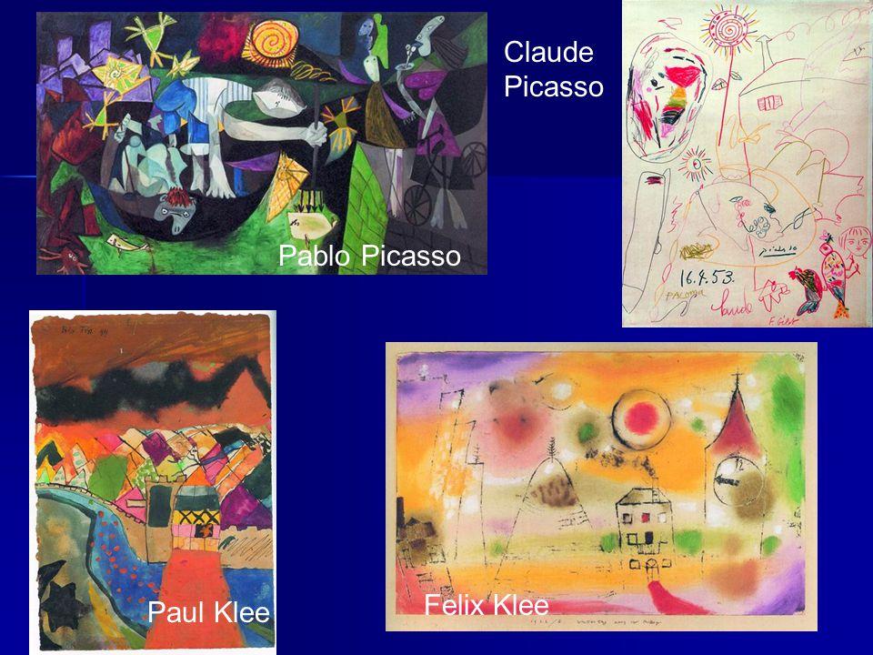 Pablo Picasso Claude Picasso Paul Klee Felix Klee