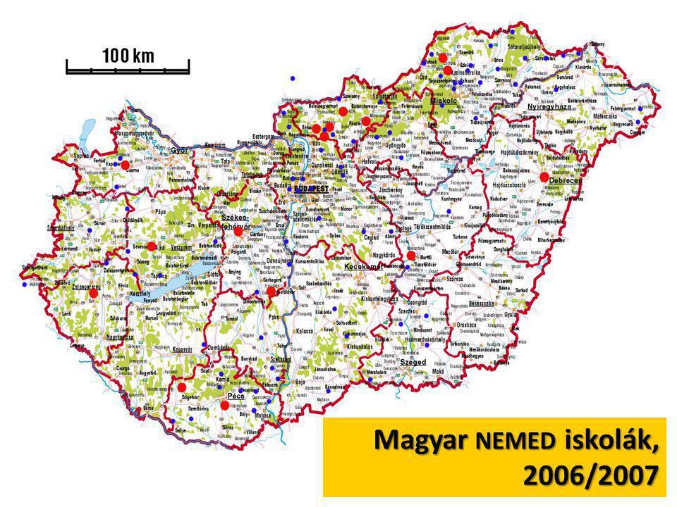 Magyar NEMED iskolák, 2006/2007
