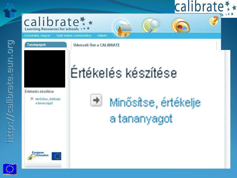 http://calibrate.eun.org http://calibrate.eun.org