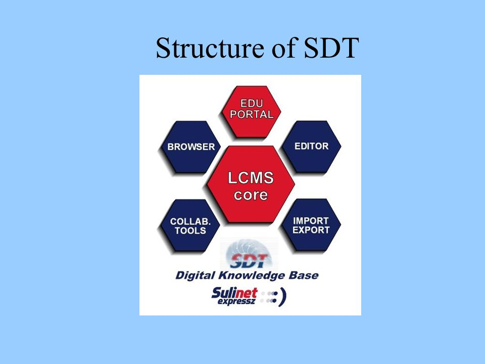 Structure of SDT