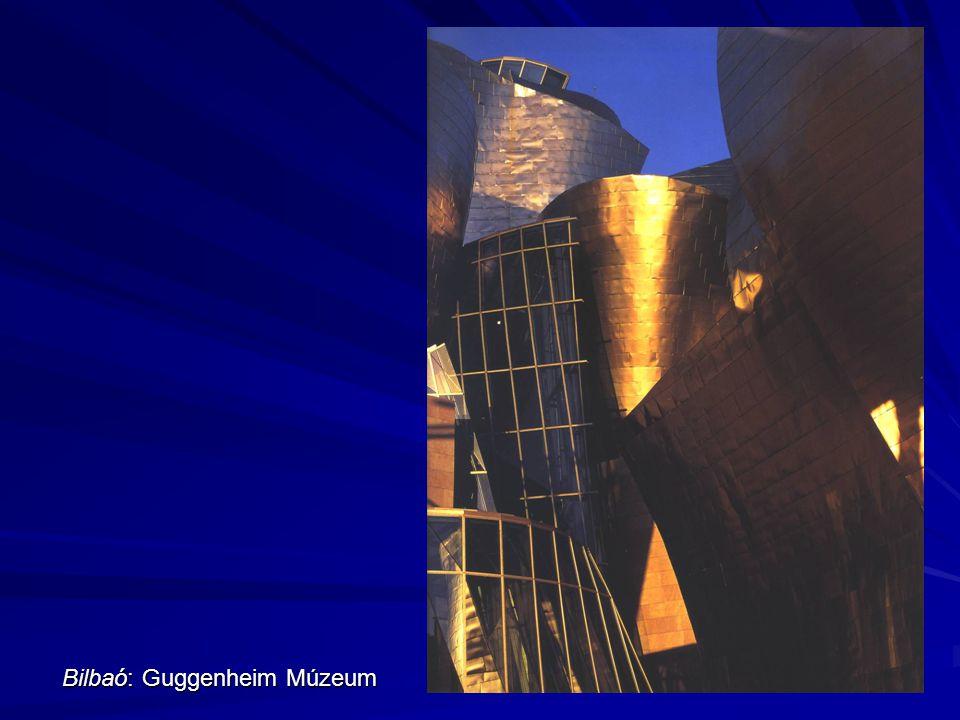 Bilbaó: Guggenheim Múzeum